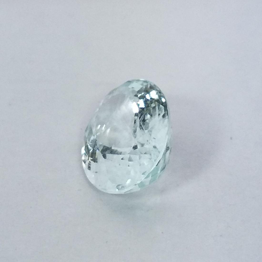 Aquamarine - 3.87 ct - 3