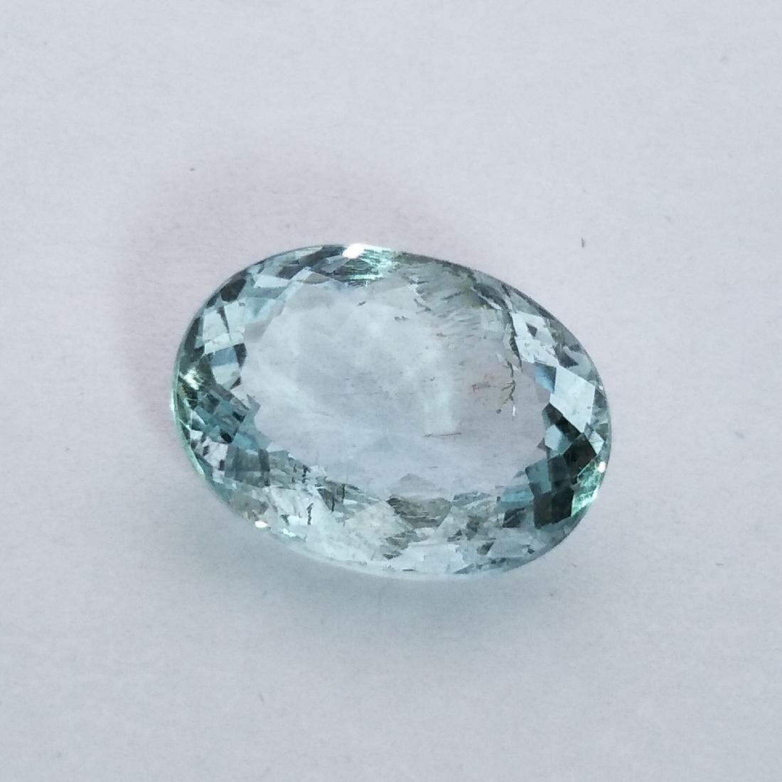 Aquamarine - 5.02 ct - 2