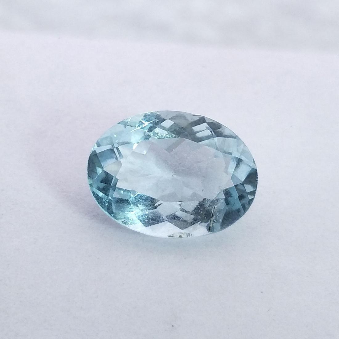 Aquamarine - 3.91 ct - 2