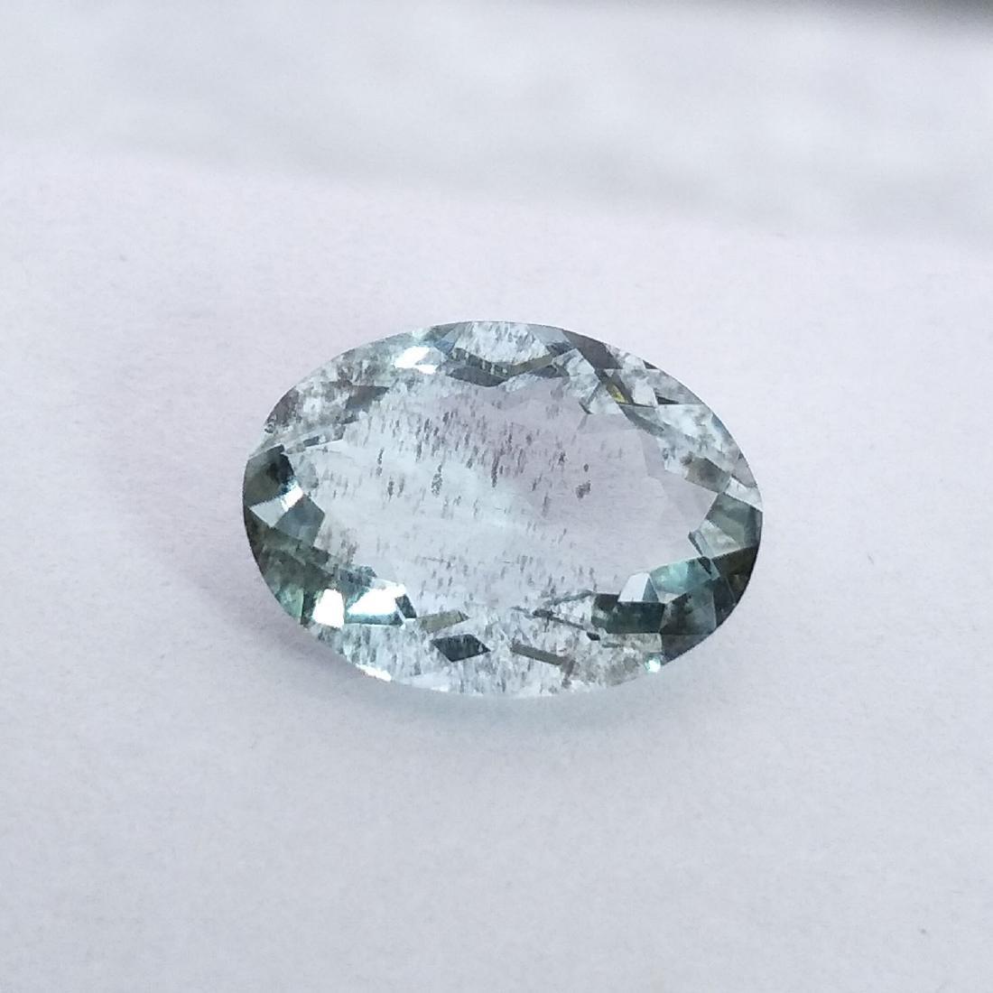 Aquamarine - 3.56 ct - 2