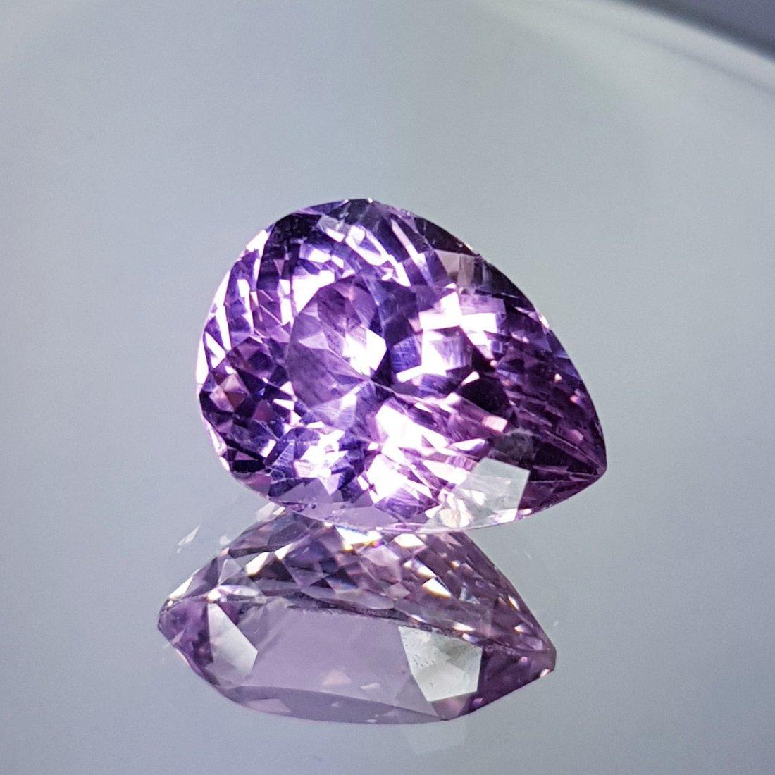 Pink Kunzite - 11.65 ct - 2