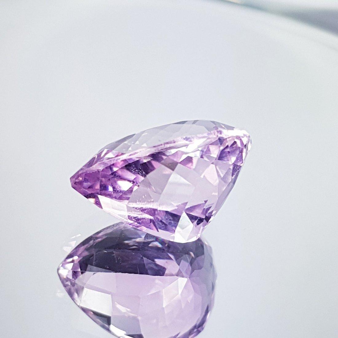 Pink Kunzite - 11.65 ct - 3