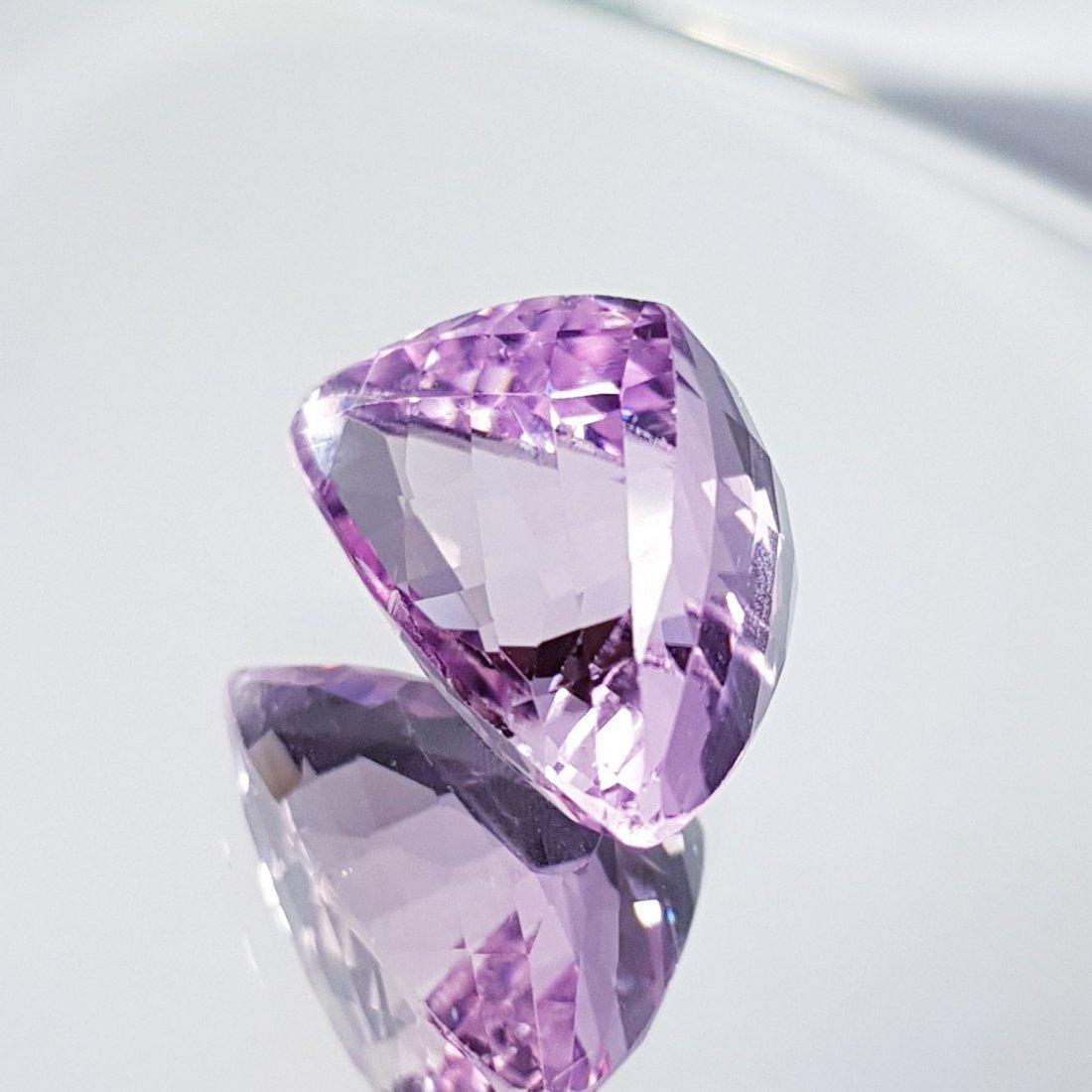 Pink Kunzite - 16.39 ct - 3