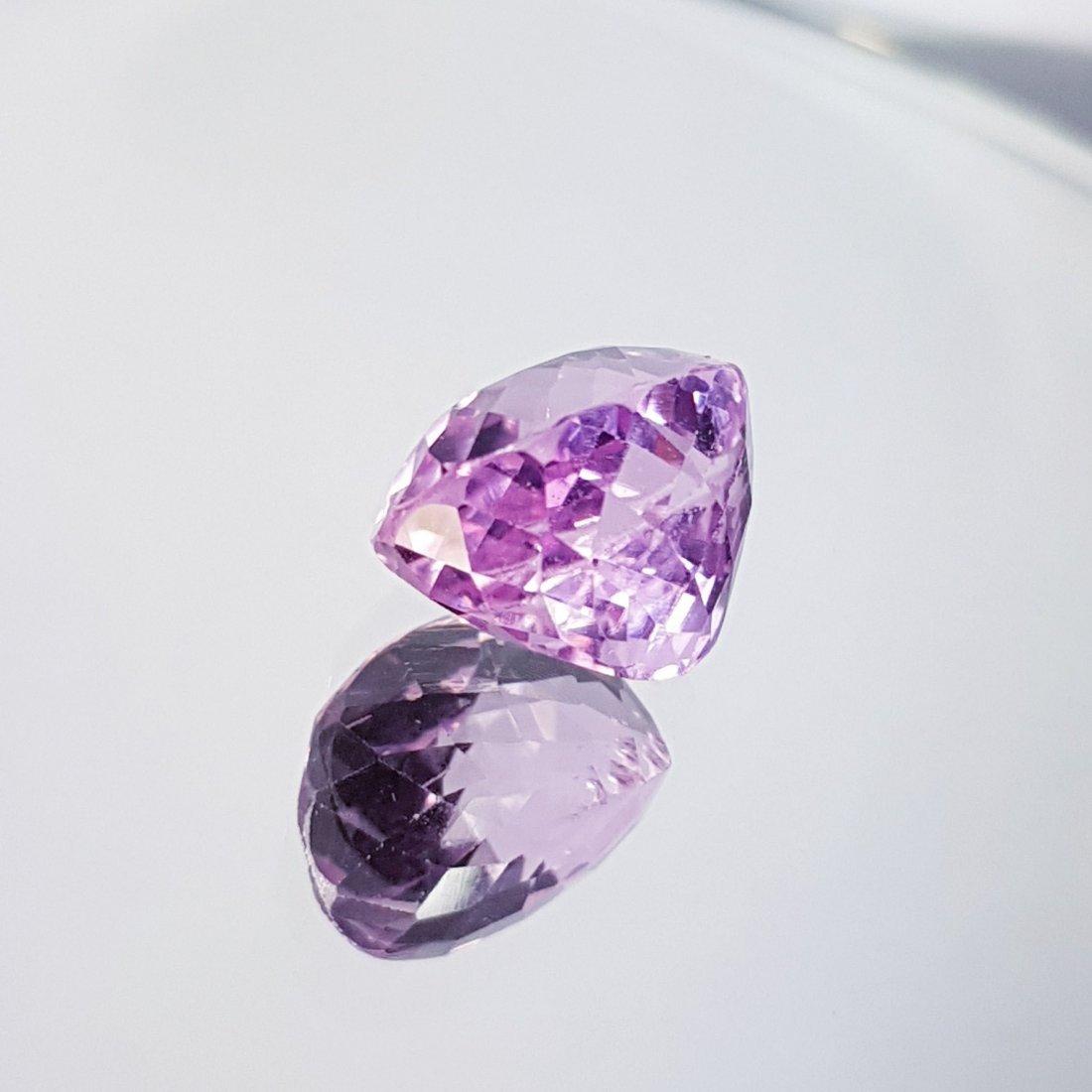 Pink Kunzite - 7.48 ct - 3