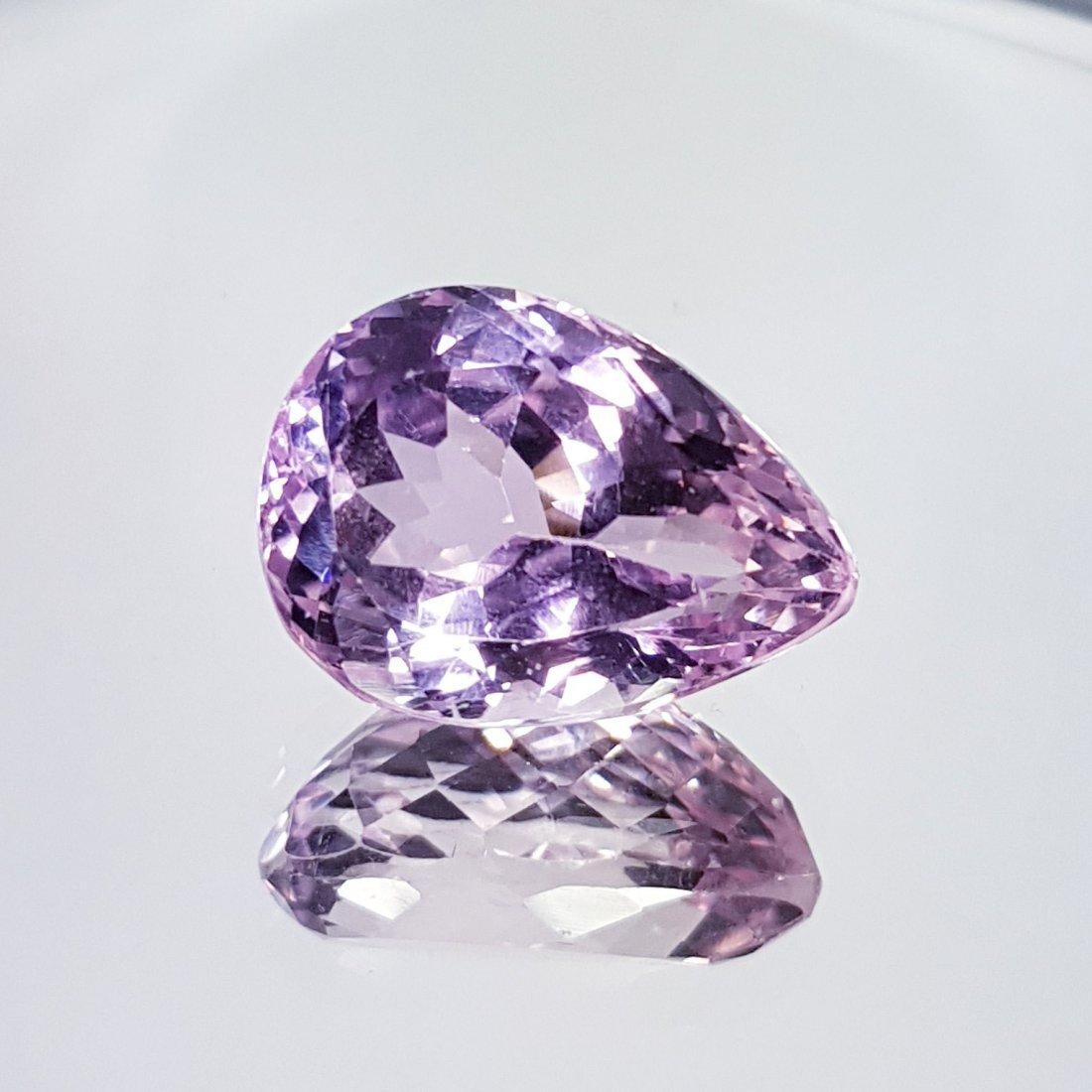 Pink Kunzite - 15.21 ct