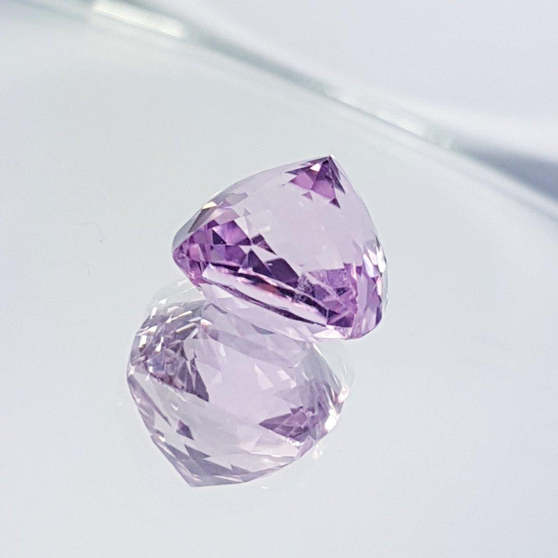 Pink Kunzite - 7.76 ct - 4
