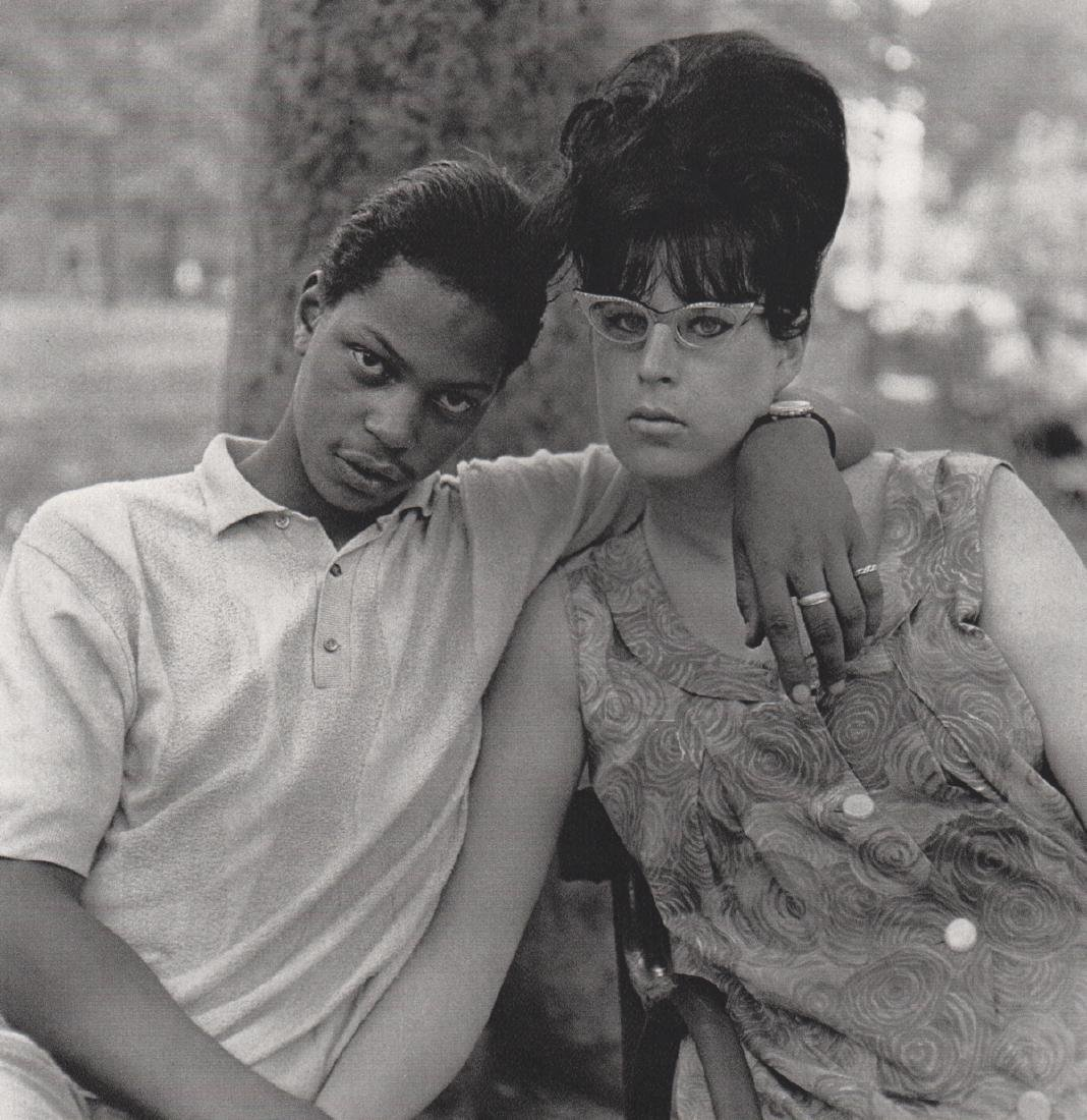 DIANE ARBUS - Young Man & Pregnant Wife