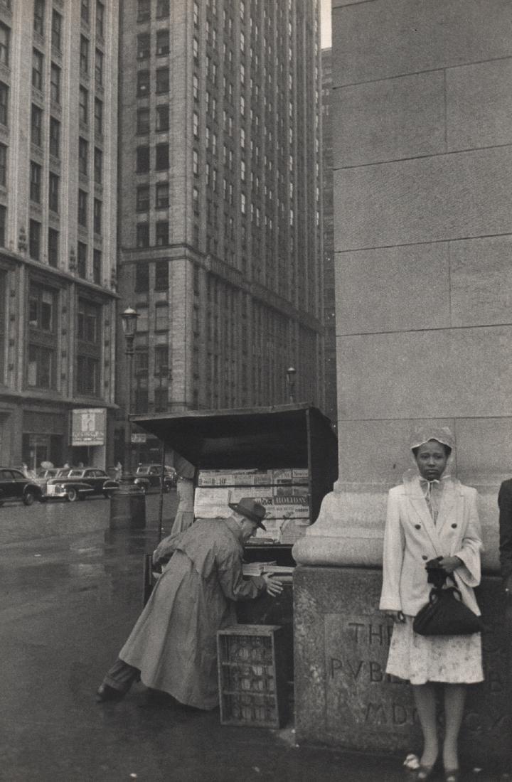 HENRI CARTIER-BRESSON - Chicago, 1947