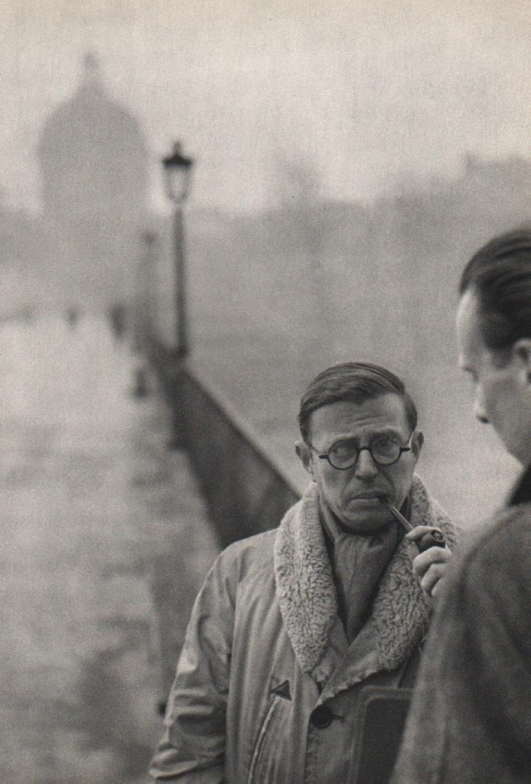 HENRI CARTIER-BRESSON - Jean-Paul Sartre