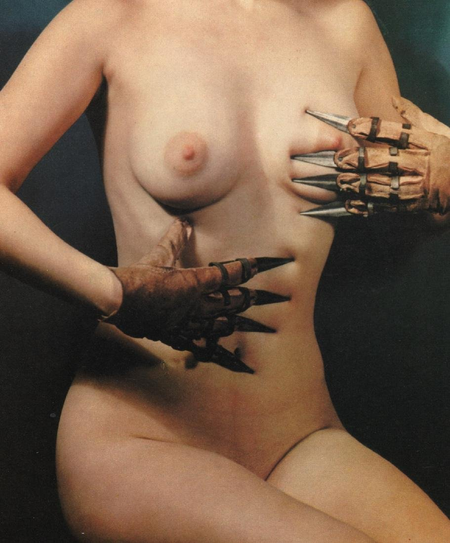 PAUL OUTERBRIDGE - Nude with Spiked Gloves
