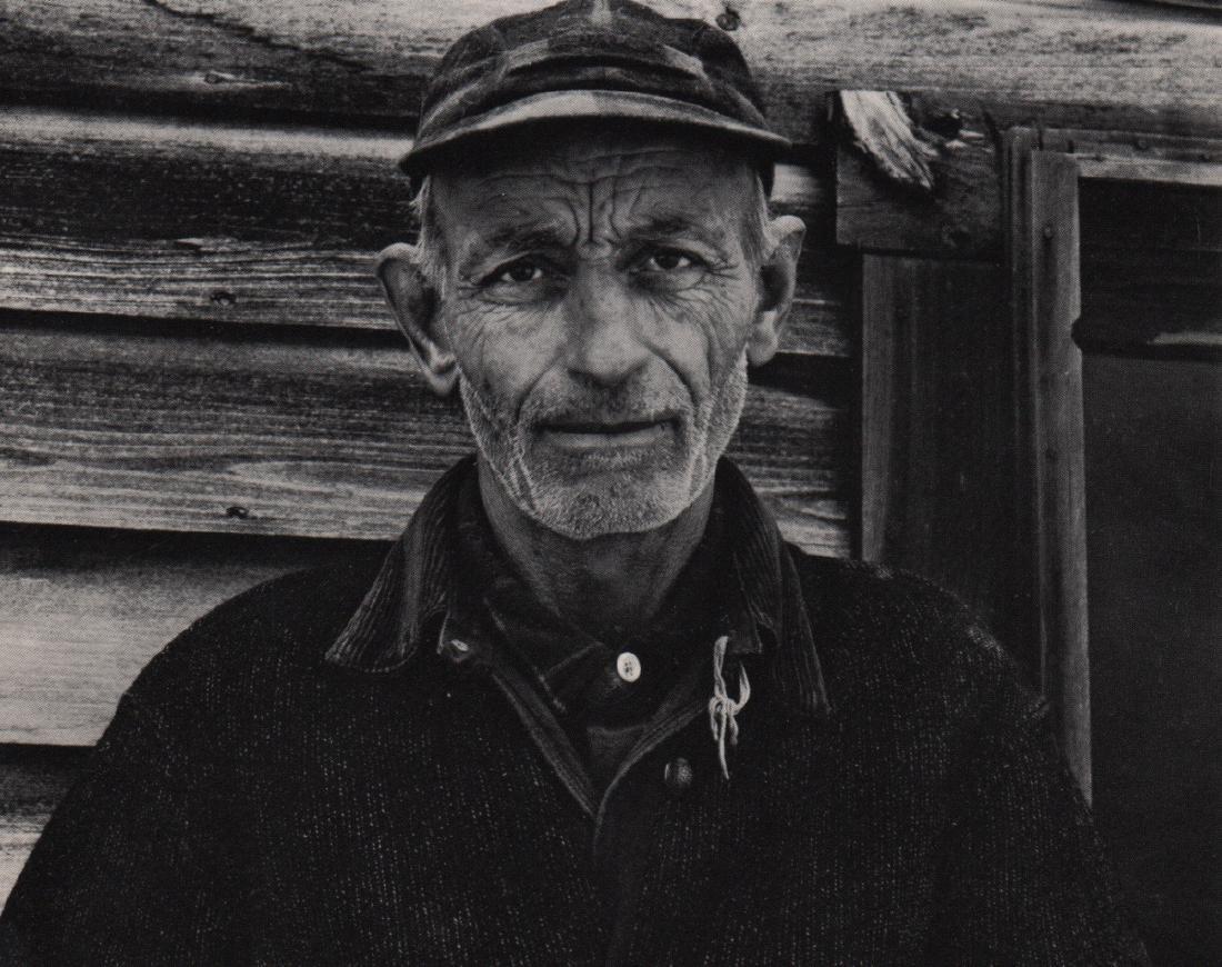 PAUL STRAND -  Mr. Bennett, Maine, 1943