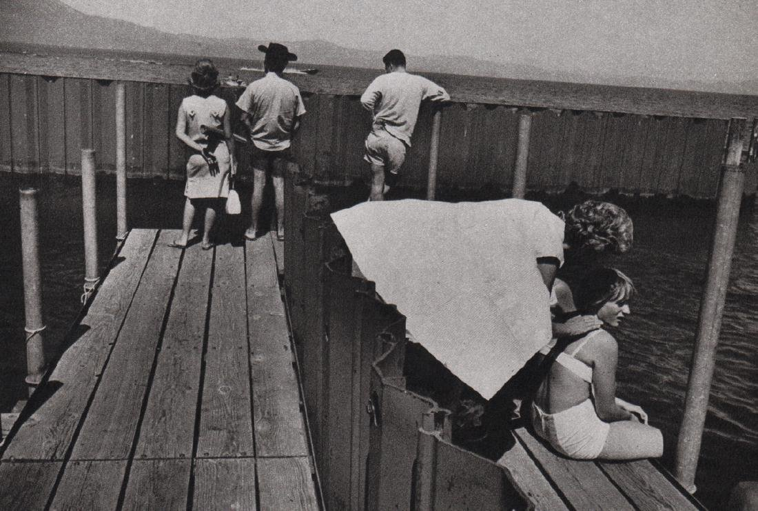 GARRY WINOGRAND - On the Dock