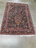 Persian Qom (Quom) Wool and Silk Rug 4.6x6.8