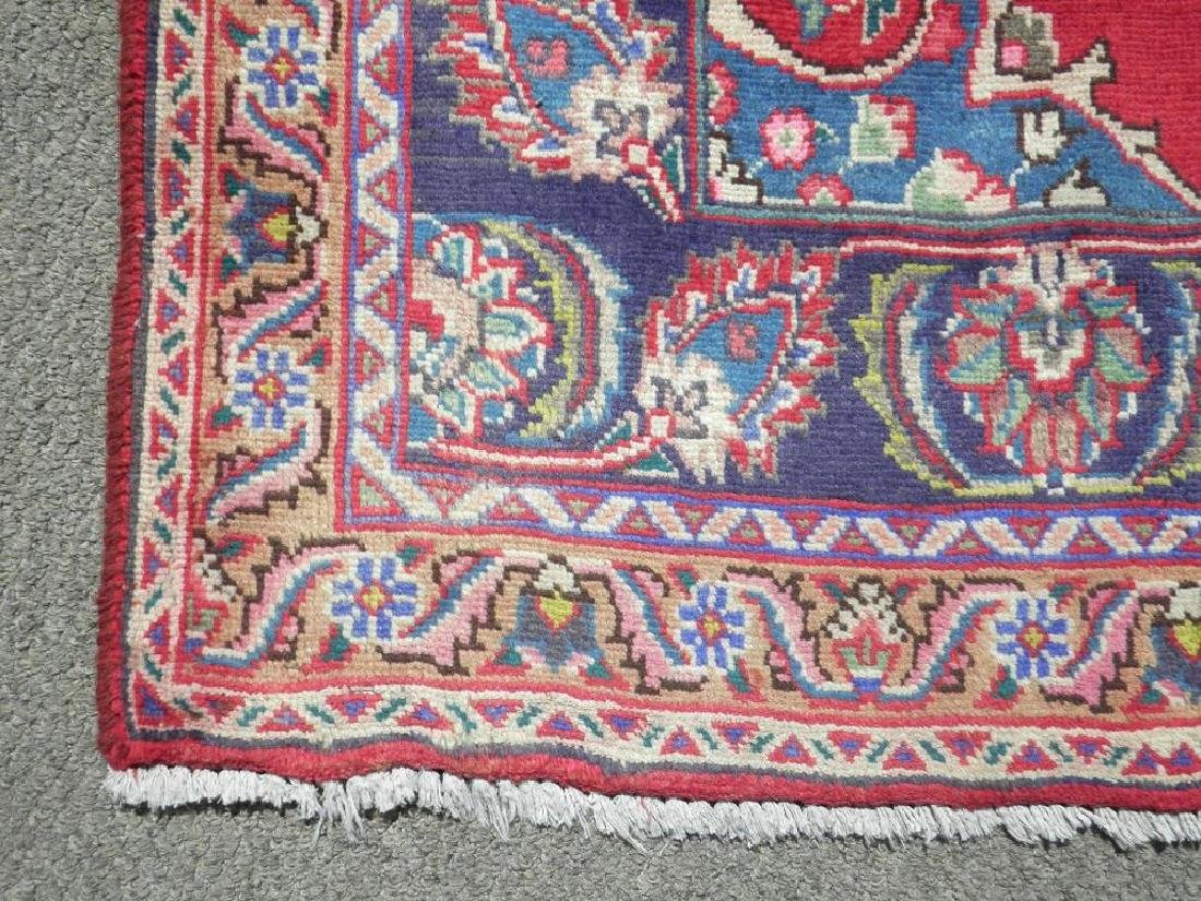 Hand Woven Semi Antique Persian Tabriz Rug 6.2x3.3 - 4