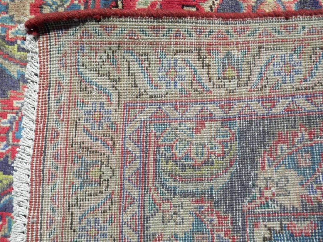 Hand Woven Semi Antique Persian Tabriz Rug 6.2x3.3 - 5