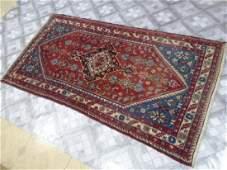Old Irani Rug 6.2x3.4