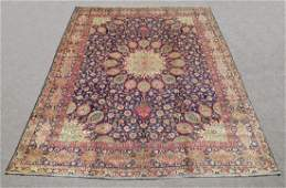 Hand Woven Semi Antique Persian Tabriz Rug 131x10