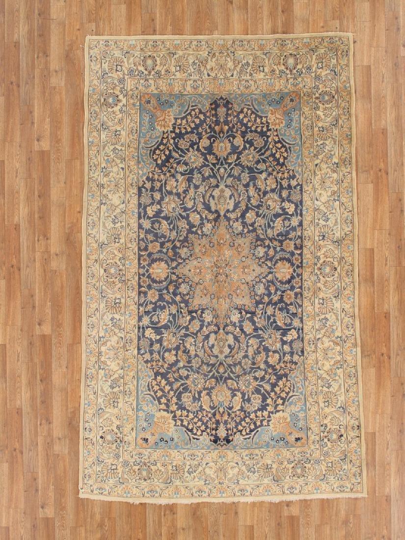 Semi-Antique Persian Nain Rug 5.x8.3
