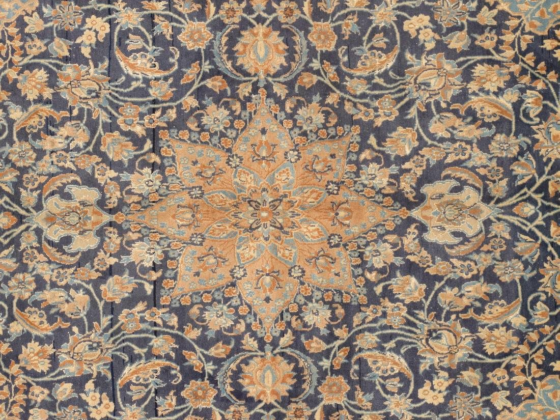 Semi-Antique Persian Nain Rug 5.x8.3 - 4