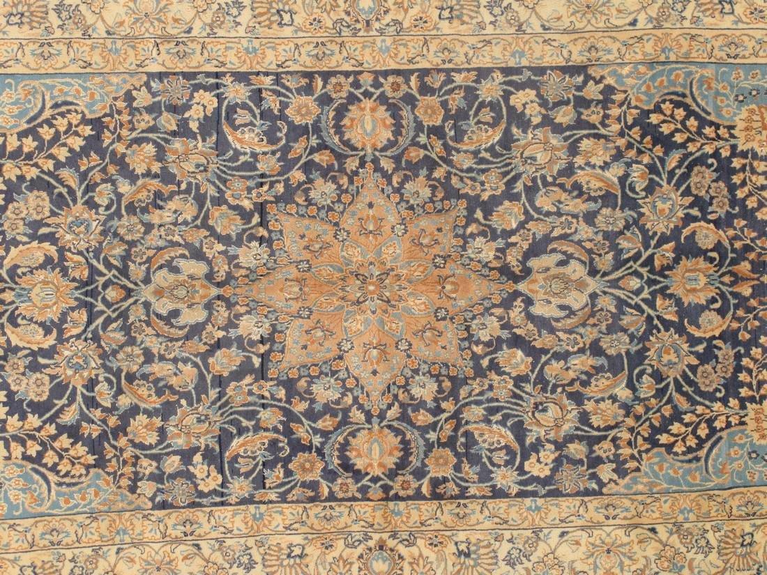 Semi-Antique Persian Nain Rug 5.x8.3 - 5