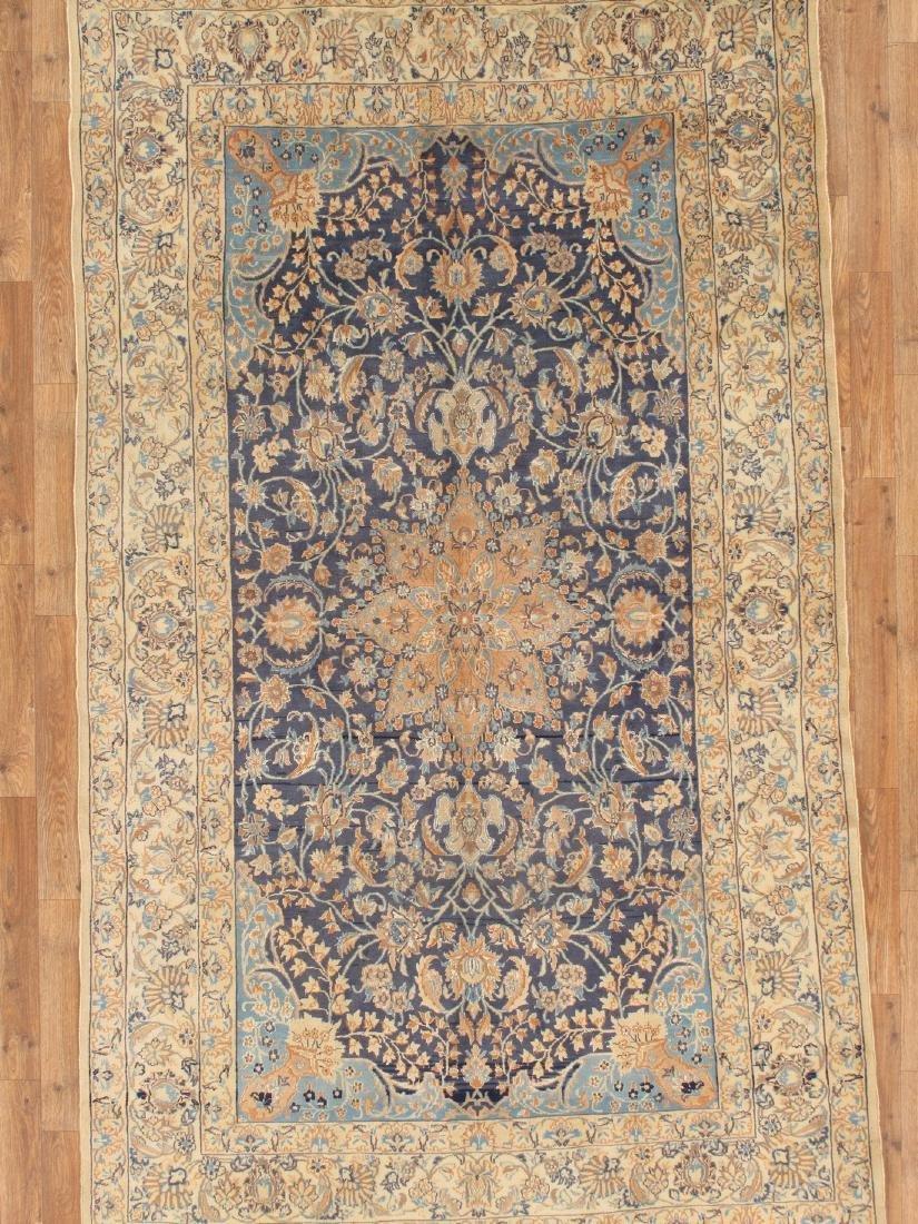 Semi-Antique Persian Nain Rug 5.x8.3 - 6