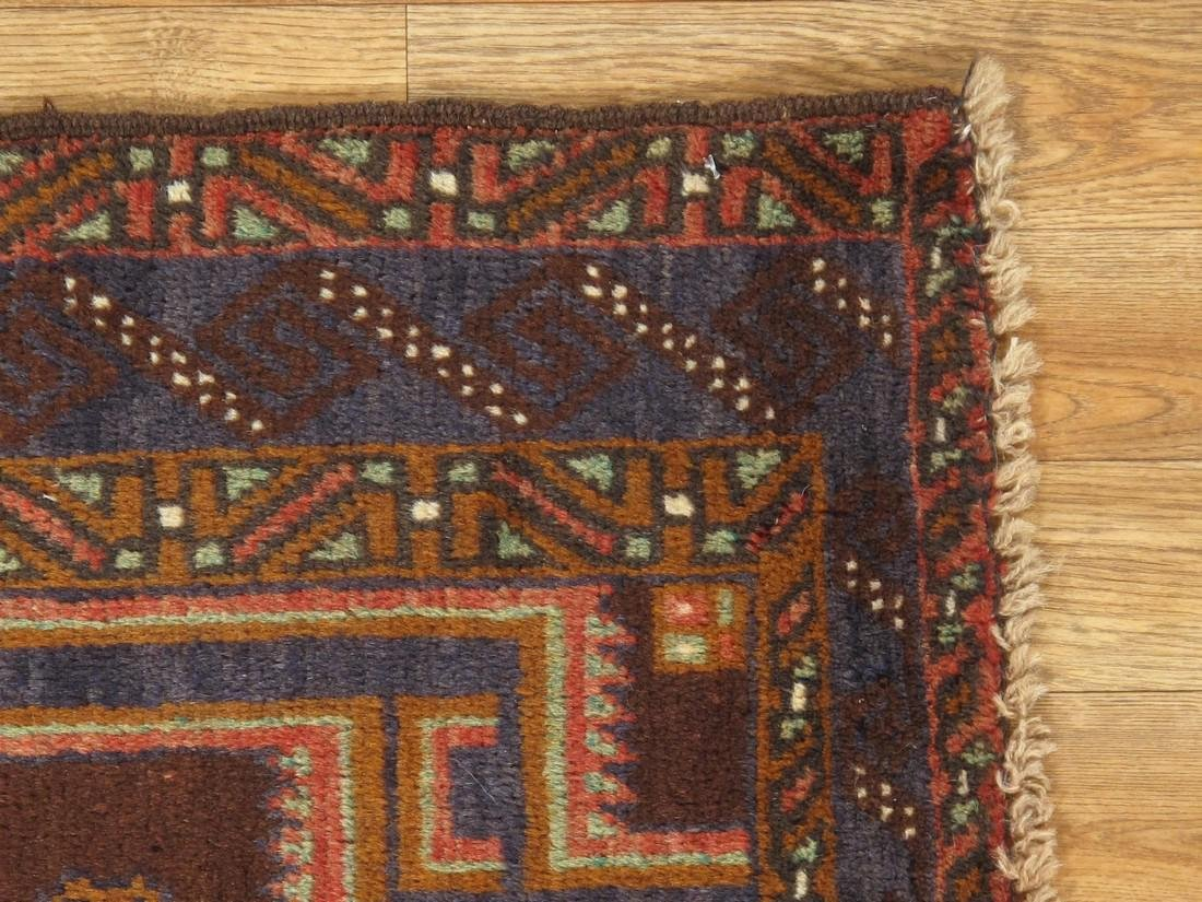 Semi-Antique Afghan Baluch Rug 2.10x4.6 - 3