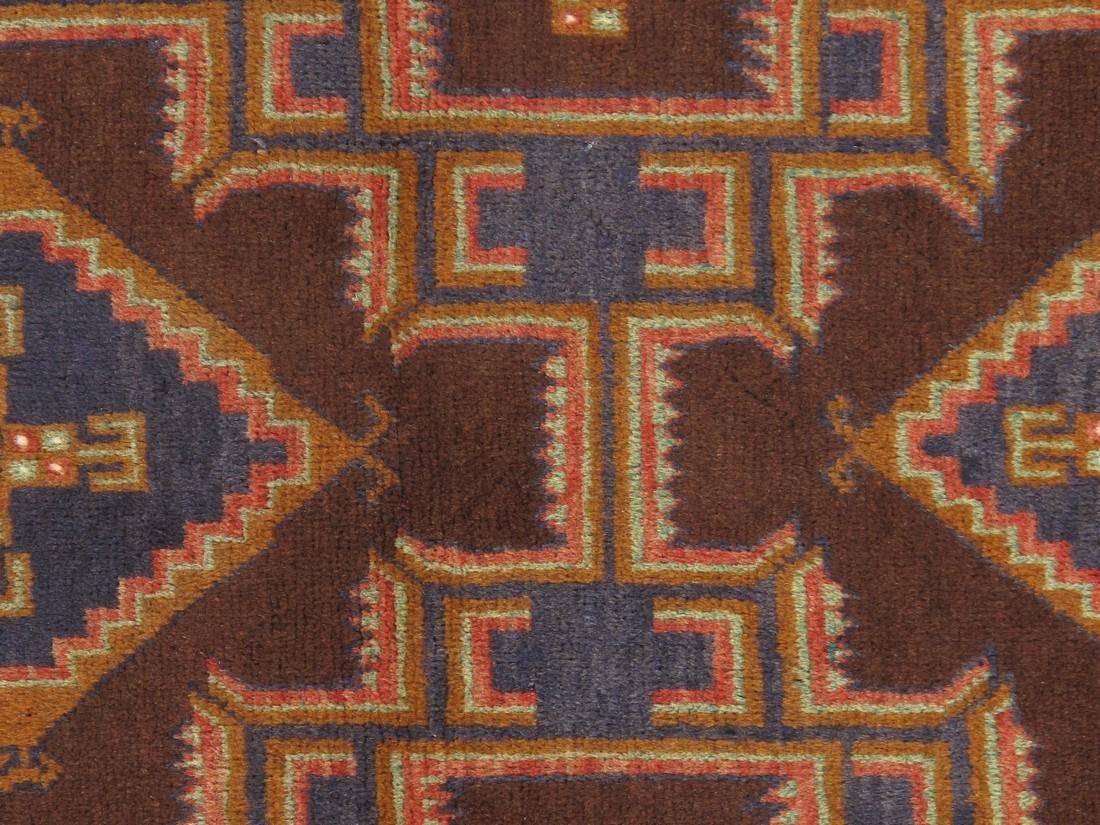 Semi-Antique Afghan Baluch Rug 2.10x4.6 - 4