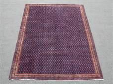 Semi Antique All Over Persian Sarouk Mir Rug 8.4x5.7