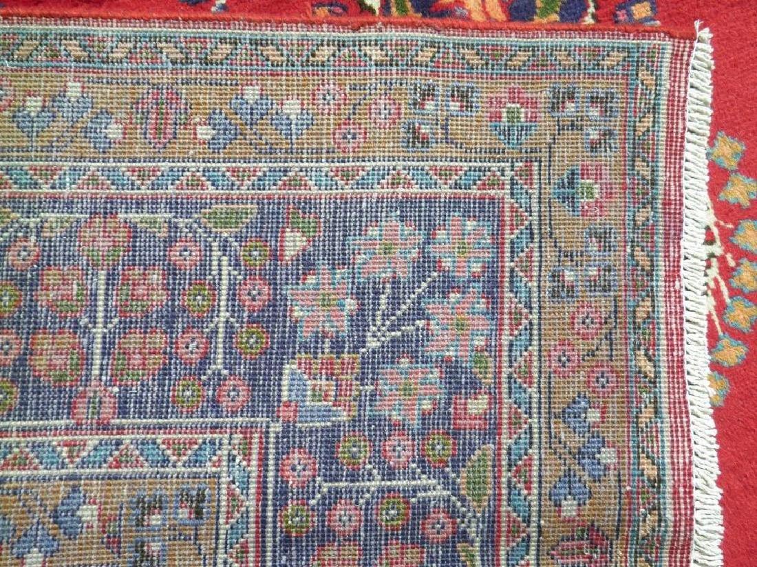 Hand Woven Semi Antique Persian Mashhad Rug 9.7x6.6 - 8