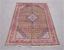 Semi Antique Persian Tabriz Mahi Design Rug 9.8x6.6