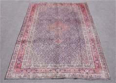 Semi Antique Persian Tabriz Mahi Design Rug 10.3x7.5