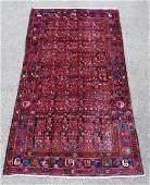 Semi-Antique Hosseinabad Rug 8.5x4