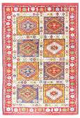 Vintage Persian Rug 4x6