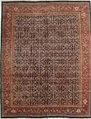 Persian allover design Mahal Rug 10.9x13.11