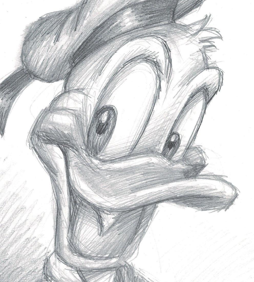 Donald Duck Graphite - 3