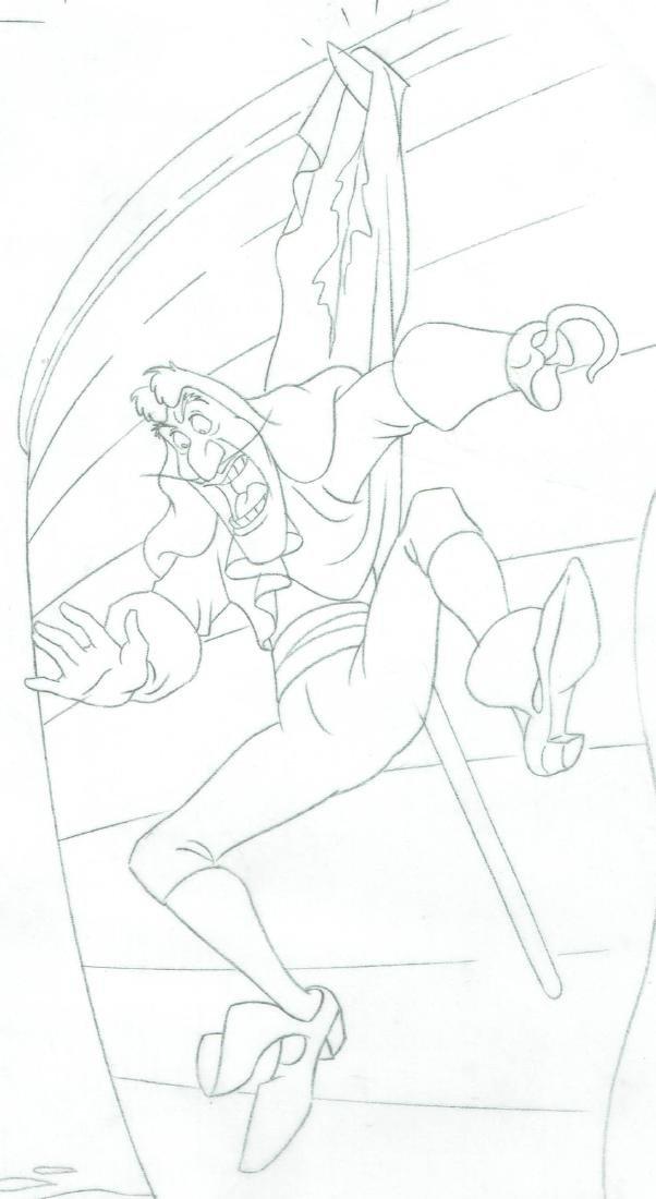 Captain Hook - Original Production Page Graphite - 3