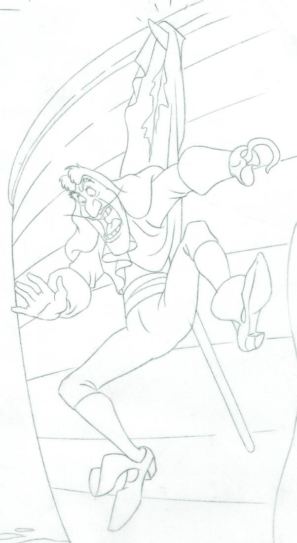 Captain Hook - Original Production Page Graphite - 3