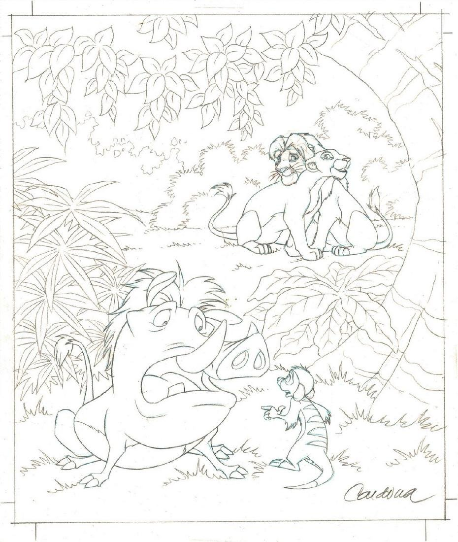 Simba,Nala,Timon & Pumba - Original Production Page