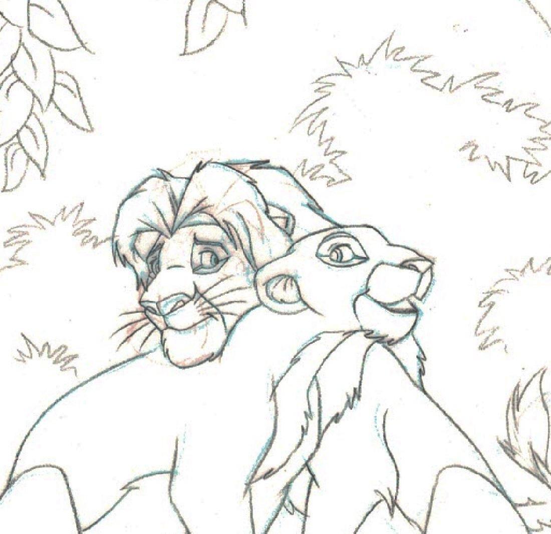 Simba,Nala,Timon & Pumba - Original Production Page - 3