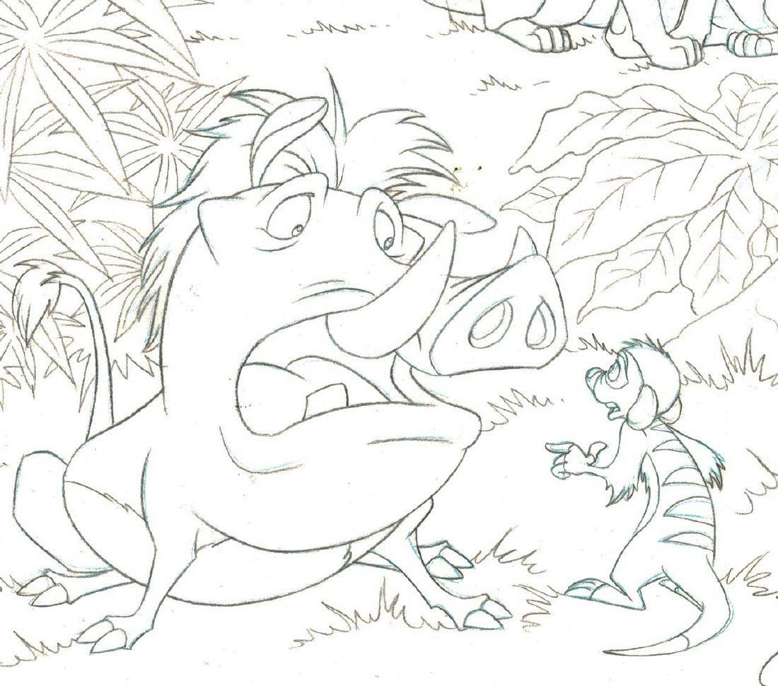 Simba,Nala,Timon & Pumba - Original Production Page - 4