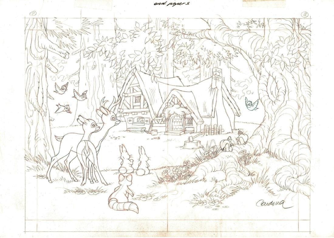 Snow White's Cottage Graphite