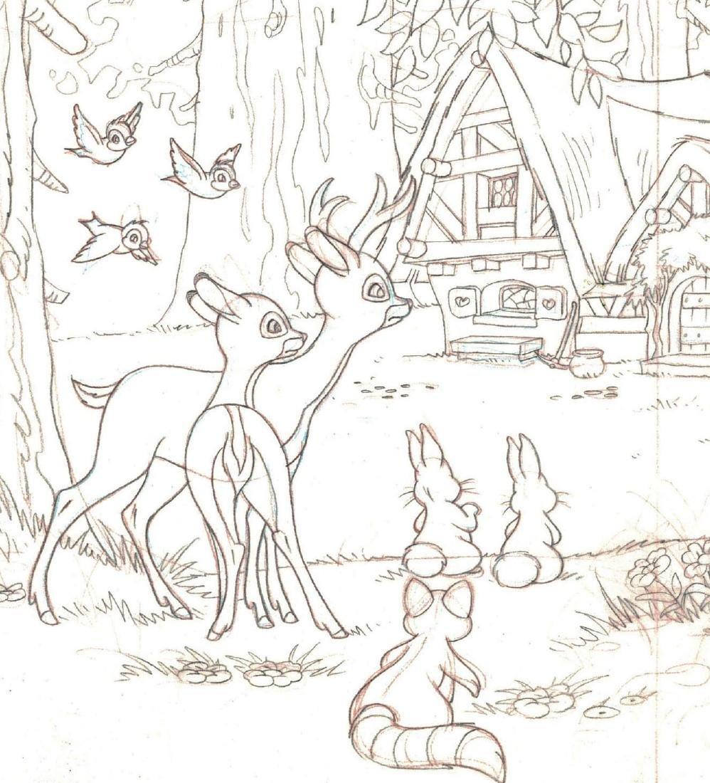 Snow White's Cottage Graphite - 2