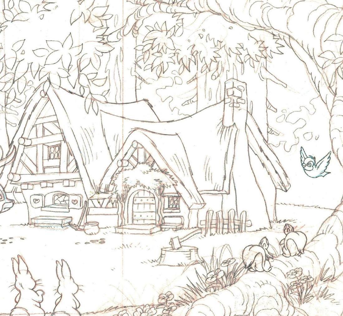 Snow White's Cottage Graphite - 3