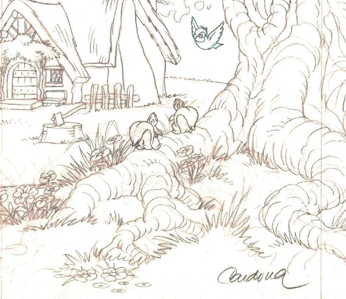 Snow White's Cottage Graphite - 5