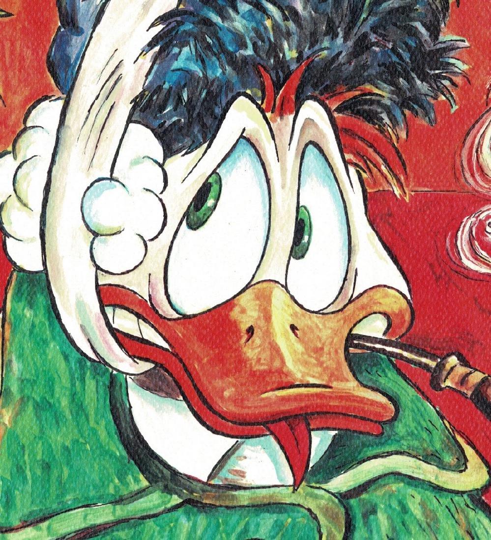 Donald Duck - Van Gogh Print - 3
