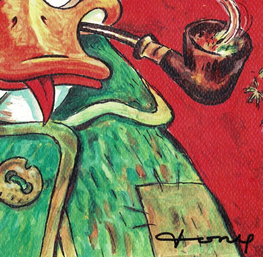 Donald Duck - Van Gogh Print - 5