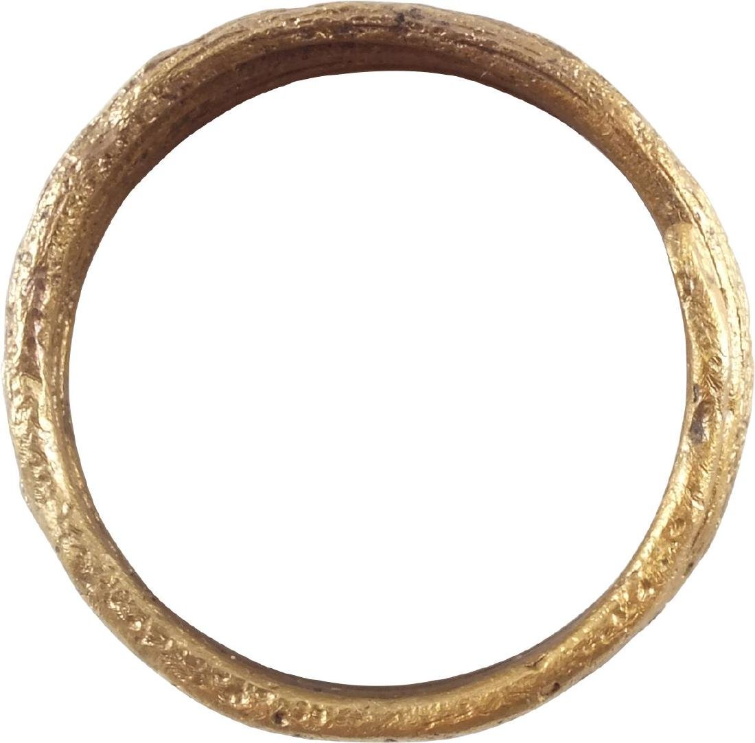 FINE VIKING COIL RING, 10th CENTURY AD - 2