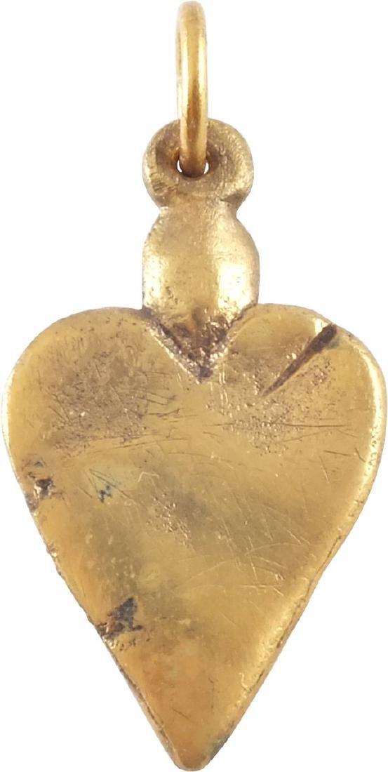 VIKING HEART PENDANT 9TH-11TH CENTURY