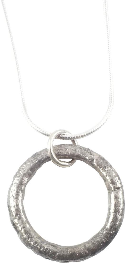 CELTIC PROSPERITY RING NECKLACE 400-100 BC