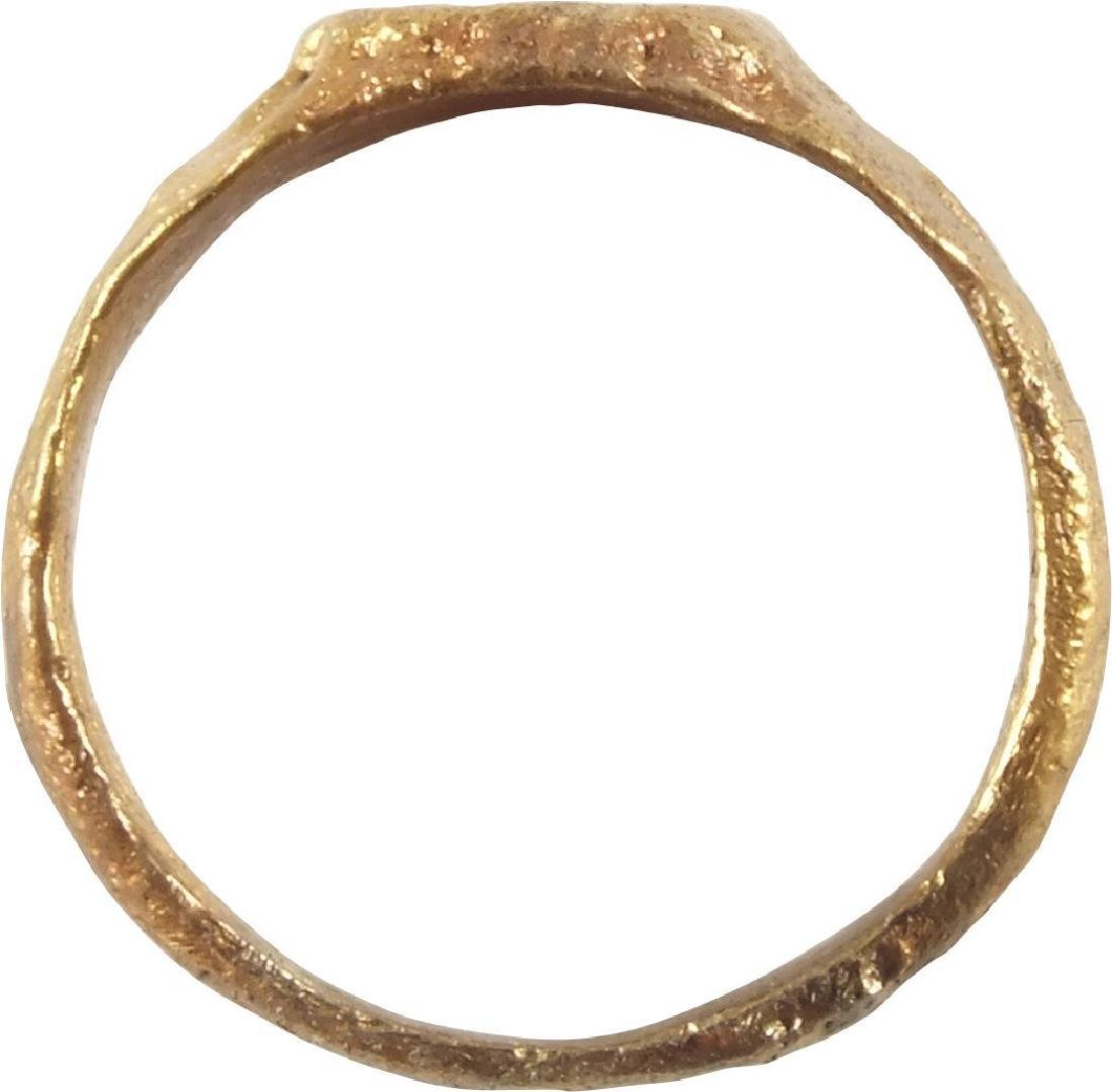 ENGLISH TUDOR WEDDING RING 16TH CENTURY - 2